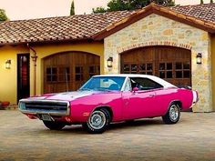 70 Charger R/T Panther Pink