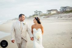 Sarah D'Ambra Photography Outer Banks Wedding Photographer  www.sarahdambra.com   A perfect intimate wedding ceremony in Corolla, North Carolina