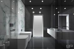 Łazienka marmur biały   Freelancers 3D
