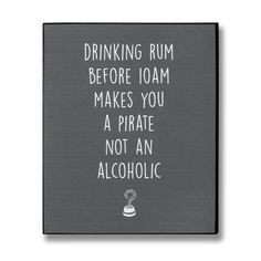 Pirate Rum Plaque From Hill Interiors