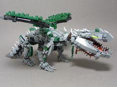 Lego Mocs The Earth Dragon