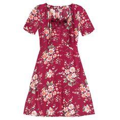 Bow Detail Crepe Dress   Dresses   CathKidston