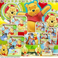 Do the antics of Winnie the Pooh, Piglet, Eeyore, and Tigger make your little one giggle with glee? Then plan the perfect Winnie the Pooh party with the help of these party tips and tricks. 1st Birthday Games, Happy Birthday Fun, Birthday Box, 3rd Birthday Parties, Birthday Ideas, Winnie The Pooh Birthday, Disney Winnie The Pooh, Bear Party, Party Party