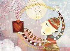 Love Pocket Valentine Postcard
