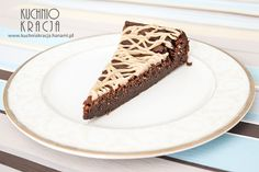 Chocolate cake with marrons cream.