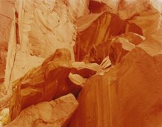 From our Tory Burch In Color Paddle 8 Art Auction: Feeling Earthquake, Capital Reef, Utah,  David Benjamin Sherry, 2014   Vogue.com