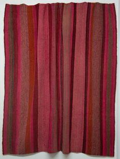 1 of a Kind Peruvian Vintage Frazada Blanket on Chairish.com