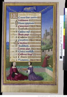 Grandes Heures d'Anne de Bretagne.
