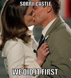Yea that's right castle you heard us !!!!!!! Bones fan for life !!!!!!!