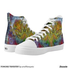 Find brilliant men's sneakers from Zazzle. Whether you like high tops or low top sneakers we have the pair for you. High Tops, My Design, Athletic Shoes, High Top Sneakers, Printed Shoes, Tapestry, Pairs, My Style, Fashion Design