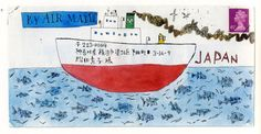 Satoshi Kitamura - mail art