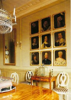 Gustavian Interiors | is married to a Swede, and much of the furnishing is Gustavian ...