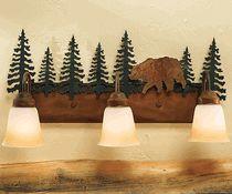 Bear Triple Bath Vanity Light