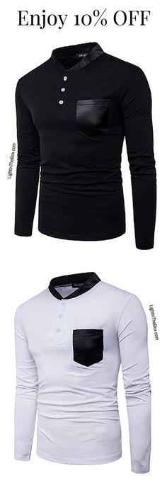 Marque Goodthreads Standard-fit Long-Sleeve Fashion Stripe Oxford Shirt Homme