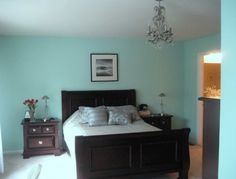 tiffany blue paint office home - Google Search