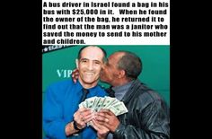 Money isn't the only thing this bus driver returned