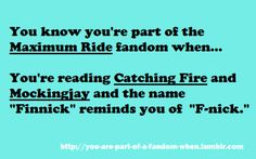 Well, I actually read hunger games first (I know. Im ashamed.) so it was sort of the other way around for me...
