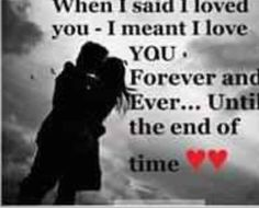 i promise to love you forever every single day of forever quote