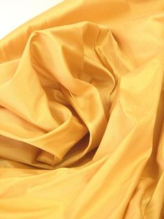 Silk Curtains Fabric shaffron gold 118 inches wide by Eleptolis, $56.00