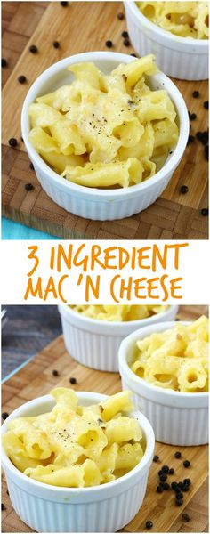 3 Ingredient Mac and
