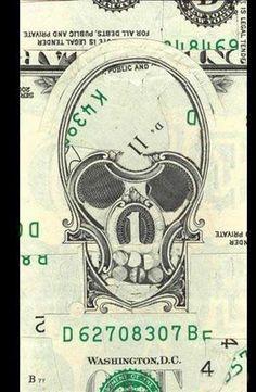 #Mark Wagner's Currency #Collages | Bextim dot ComCom #Skull