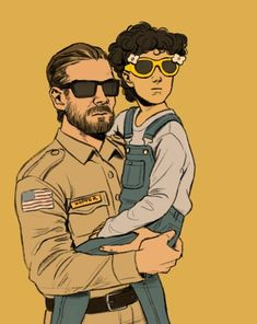 Hopper is such a good dad