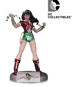 Pre-Order DC Comics Bombshells Wonder Woman Holiday Statue