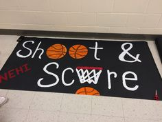 Sport Banner Basketball 70 Ideas - Fitness and Exercises, Outdoor Sport and Winter Sport School Spirit Posters, High School Posters, Cheer Posters, Posters Diy, Basketball Signs, Basketball Cheers, Football Signs, Basketball Posters, Basketball Drills