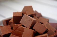 Csipetfalat: Nyers csokikocka