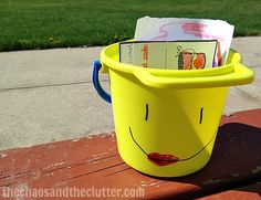 Activities to go along with the book Have You Filled a Bucket Today?