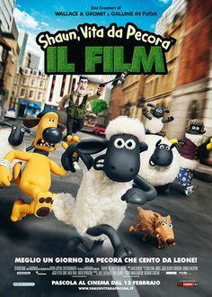 """SHAUN, VITA DA PECORA La serie è una pietra miliare dell'animazione per l'infanzia e il lungometraggio non delude le aspettative: in tutto il film non viene pronunciata neppure una parola di senso compiuto, eppure con il suo elegante ed efficace equilibrio tra comicità slapstick e buoni sentimenti riesce a intrattenere, divertire e commuovere. RSVP: """"Galline in fuga"""", """"Wallace & Gromit – La maledizione del coniglio mannaro"""". Voto: 7/8."""