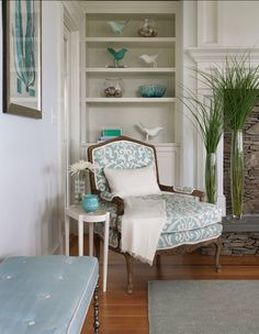 #Turquoise #Interiors  Turquoise Home #Decor