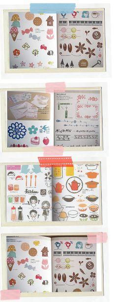 Patrones japones para sellos