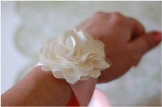 would love this instead of the the usually fresh flower corsage because you can keep it forever