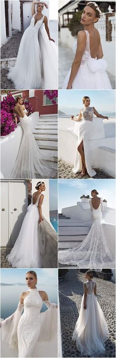 Modern sexy Julie Vino wedding dresses