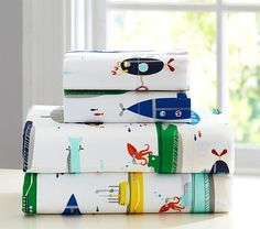Submarine Sheet Set | Pottery Barn Kids