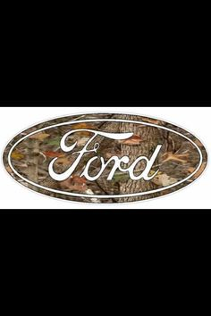 Camo Ford logo. We have created custom camo Ford trucks at Prestige, so when we saw this, we had to pin it!