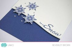 Stamp Of The Week - Stunning Snowflakes - Uniko Let It Snow, Let It Be, Cardmaking And Papercraft, Winter Theme, Clear Stamps, Snowflakes, Christmas Cards, Card Making, How Are You Feeling