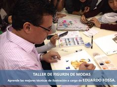 TALLER DE ILUSTRACION DE FIGURIN EDUARDO FOSSA - FASHION ILLUSTRATION