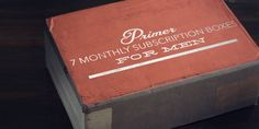 7 Monthly Subscription Boxes for Men - Primer