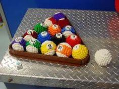 Lego Pool Balls