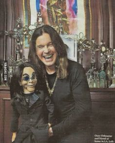 Ozzy Osbourne and Michael Jackson Continue Reading → Hard Rock, Ozzy Osbourne Quotes, Robert The Doll, Ozzy Osbourne Black Sabbath, Classic Rock Artists, Michael Hutchence, Heavy Metal Bands, Jimi Hendrix, Music Bands