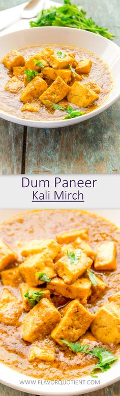 Soft and succulent cubes of paneer steam-cooked in the most sensuous gravy full of all the exotics of Indian cuisine! This is gonna knock you out instantly! #PaneerKalimirch #DumPaneer #PaneerRecipes #IndianRecipes #IndianFood #India #IndianCottageCheeseRecipes #FlavorQuotient #VegRecipes