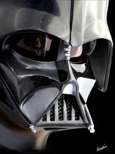 Darth Vader - I love this sympathetic villain from episodes 4-6 (The only ones that count)
