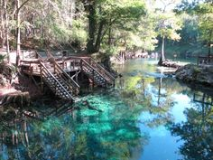 Fl Caves Diving At Madison Blue Spring State Park In