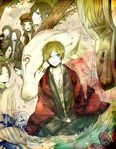 Tags: Anime, Fanart, Natsume Yuujinchou, Pixiv, Natsume Takashi | Brain's Base | Yuki Midorikawa