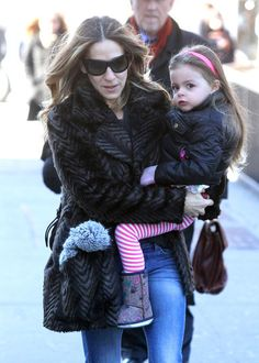 Sarah Jessica Parker and Tabitha looks so cute in NYC | Click for more pics