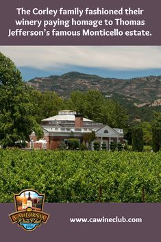The Corley family philosophy is one of 'sunshine to wine' in which their family directs all aspects of winegrowing and winemaking from the initial selection . Malbec Wine, Barolo Wine, California Wine Club, Wine Puns, Wine Tasting Near Me, Napa Valley Cabernet Sauvignon, Temecula Wineries, Virginia Wineries, Buy Wine Online