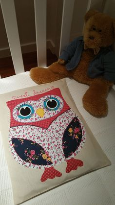 visit to the Lincraft blog to see my tutorial on how to make this fun owl PJ pillow. Link on my blog carinascrafts.wordpress,com