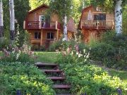 Our Alaskan getaway cabins outside of Fairbanks Alaska :) Can't wait!!